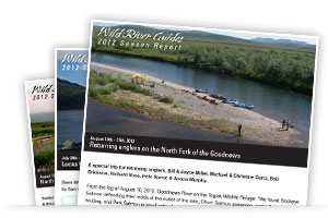 fly fishing season reports
