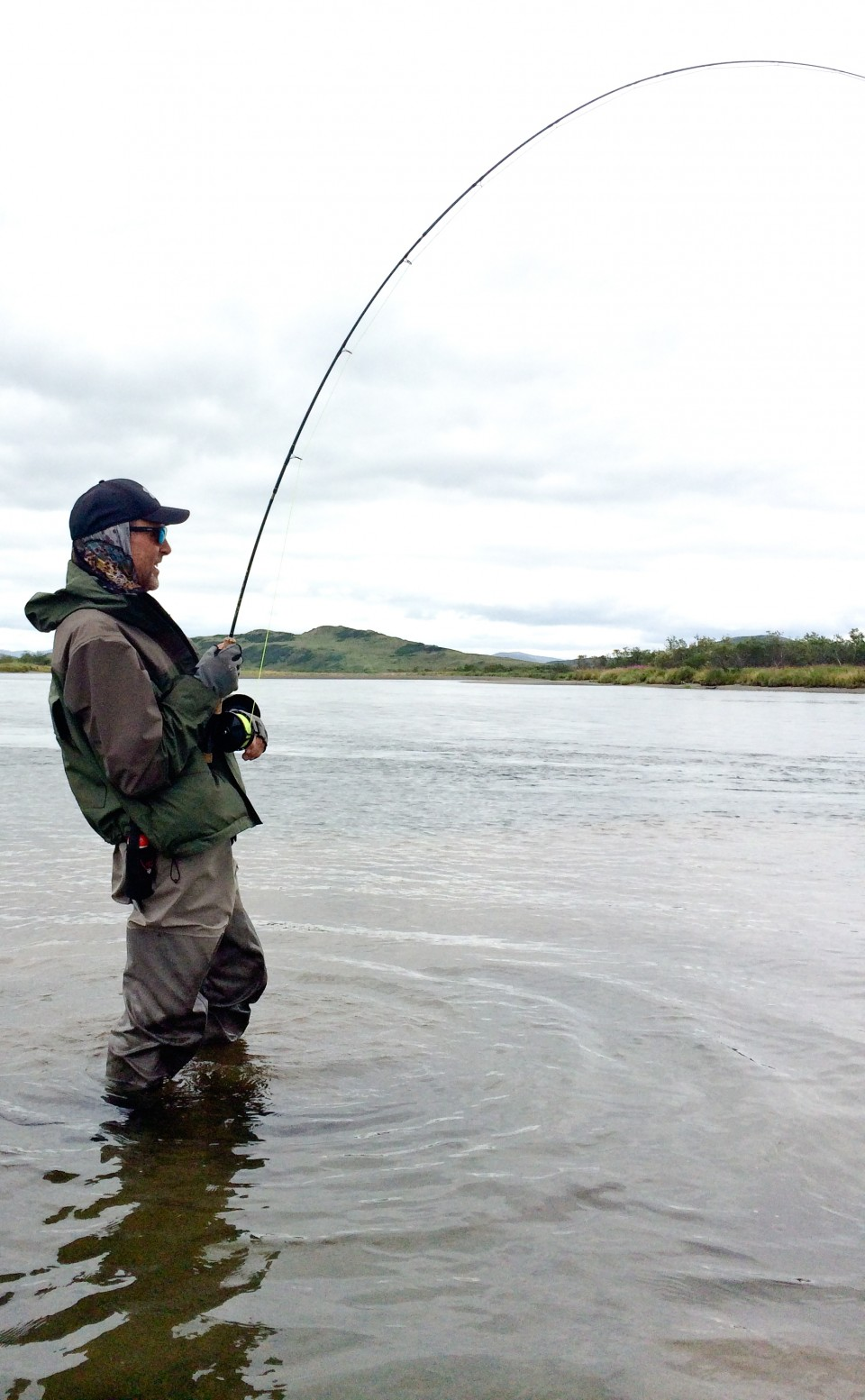Hook up fly fishing