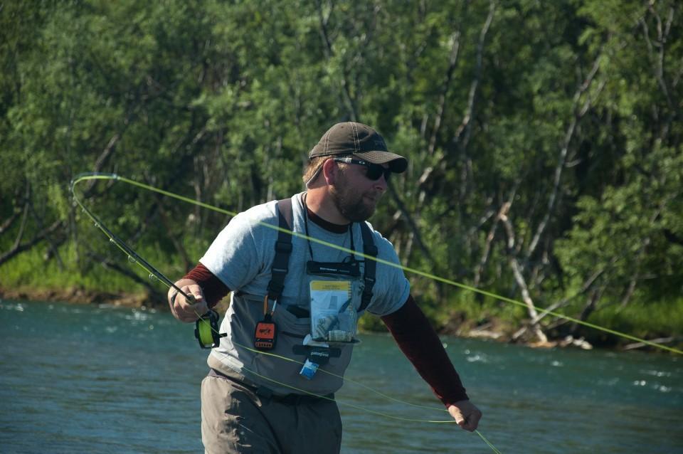 Kanektok river wild river fish for James river fishing report