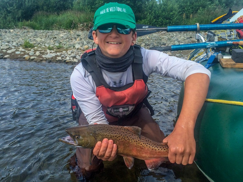 Middle fork goodnews river fly fishing expedition wild for Charlie s fishing report