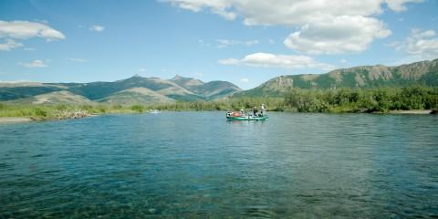 Kanektok Awesome raft clear water