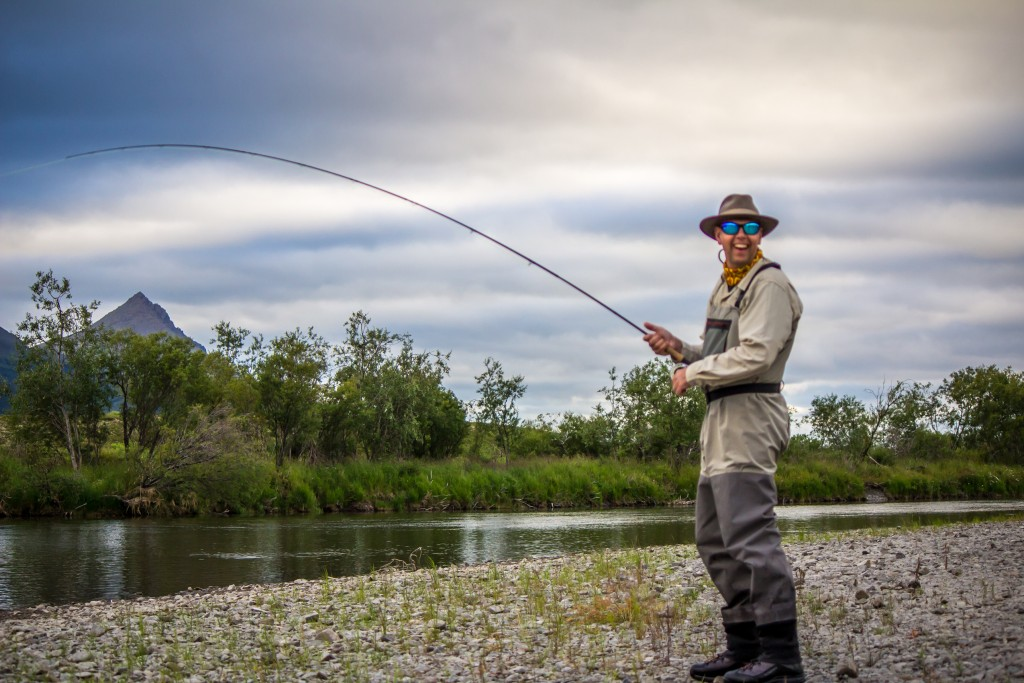 Fly Fishing Mouse patterns Alaska wilderness rainbow trout solitude adventure King Salmon Dolly Varden Char Coho Silvers