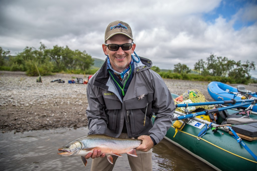 Fly Fishing Mouse patterns Alaska wilderness rainbow trout solitude adventure King Salmon Dolly Varden Char