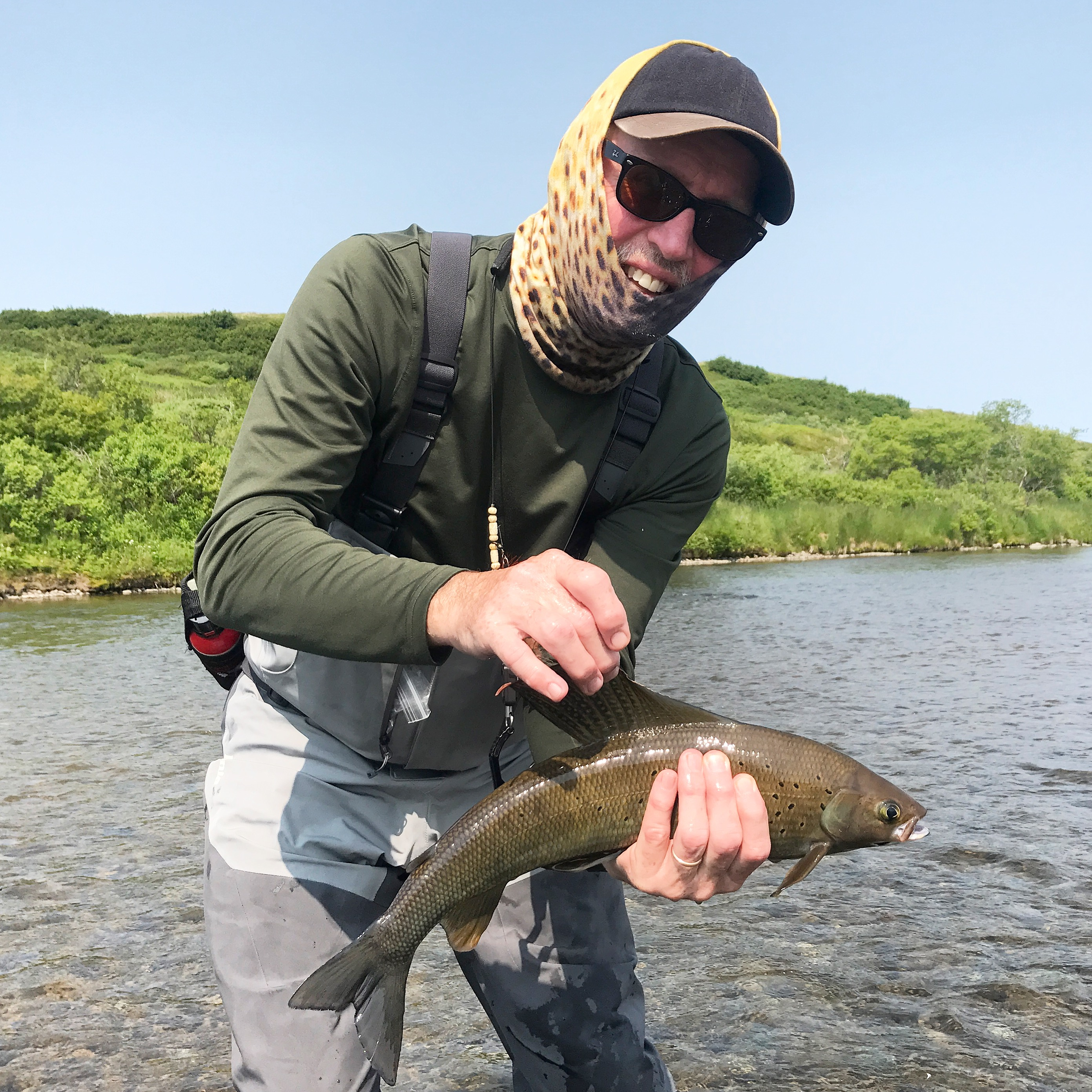Fly Fishing Mouse patterns Alaska wilderness rainbow trout solitude adventure King Salmon Dolly Varden Char Grayling