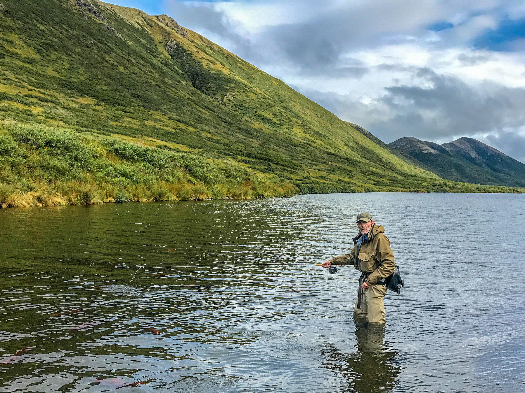 Fly Fishing Mouse patterns Alaska wilderness rainbow trout solitude adventure King Salmon